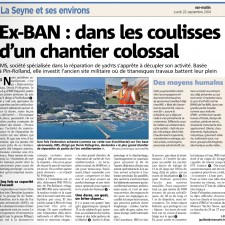 article Var Matin Grande plaisance